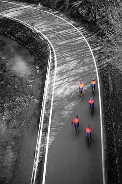 Radfahrer von Pierre Verhoeven