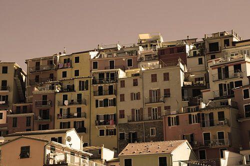 Cinque Terre Toscane Italië Oud