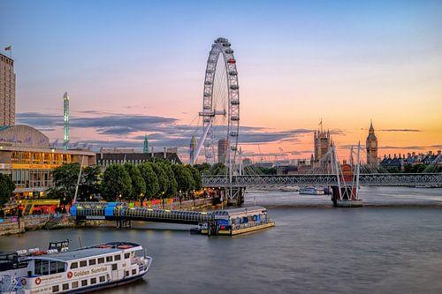 Londoner Sonnenuntergang