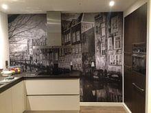 Klantfoto: Dordrecht achter de Grote Kerk, Voorstraathaven van Rob van der Teen