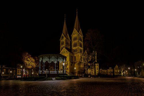Münsterplein in Roermond von Eus Driessen