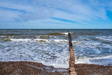 Baltic coast in Nienhagen, Germany van Rico Ködder
