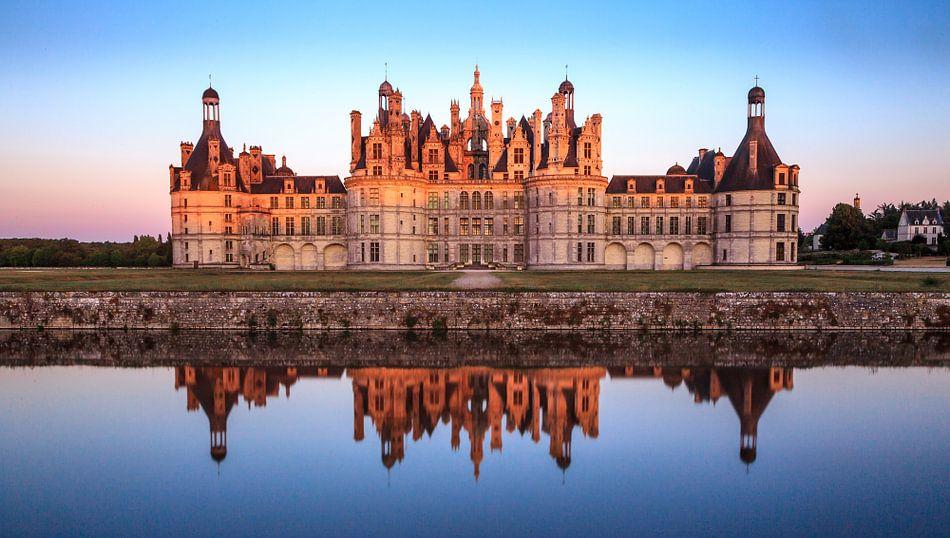 Chateau Chambord, Loire in Frankrijk van Timo  Kester