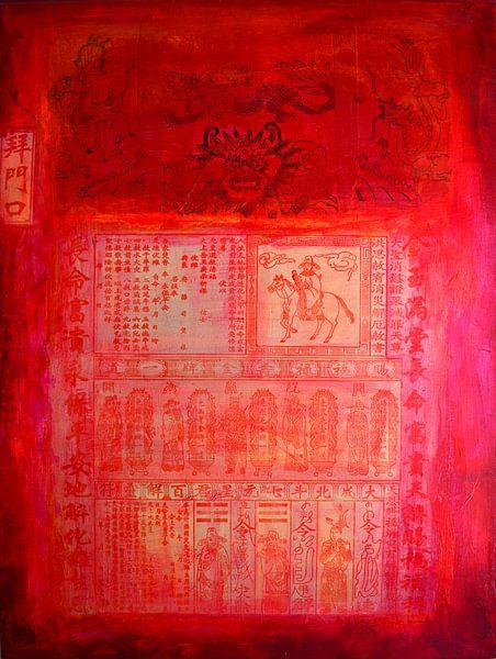 Chinese red van Inge Buddingh