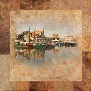 Haven Volendam in bruin van