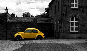 Gele Volkswagen Kever von Wilco Bos