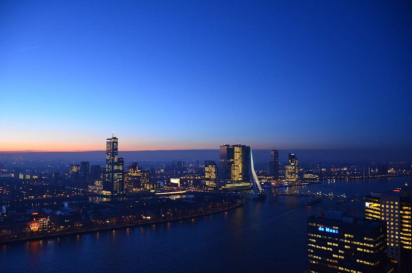 Rotterdam blijft bekoren van Marcel van Duinen