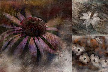 Collage Melancholie von Claudia Gründler