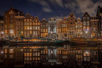 Canal houses Singel Amsterdam van Gerard Koster Joenje (Vlieland, Amsterdam & Lelystad in beeld)