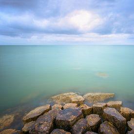 Blues at the lake van Roelie Steinmann