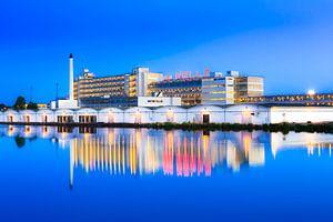 Van Nellefabriek tijden het blauwe kwartier van