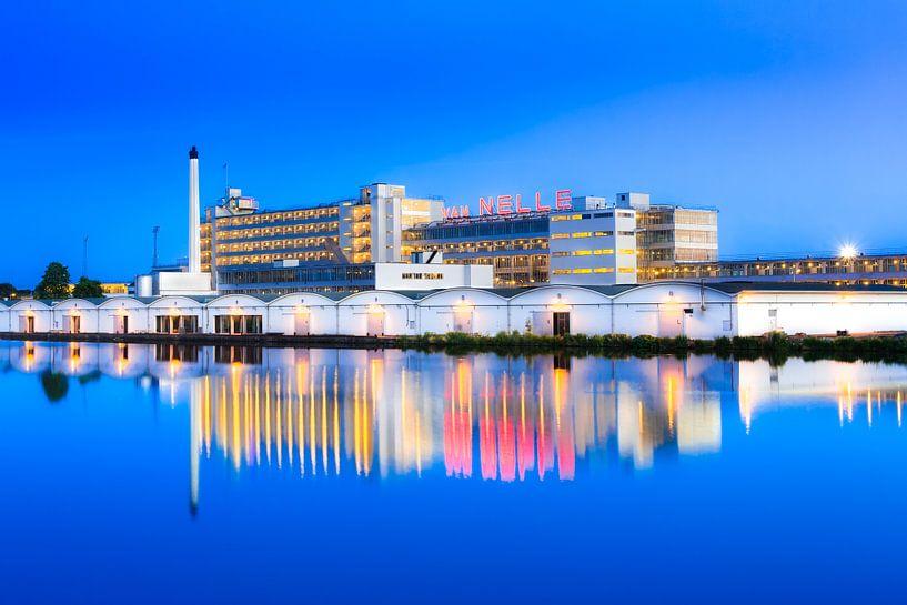 Van Nellefabriek tijden het blauwe kwartier van Prachtig Rotterdam