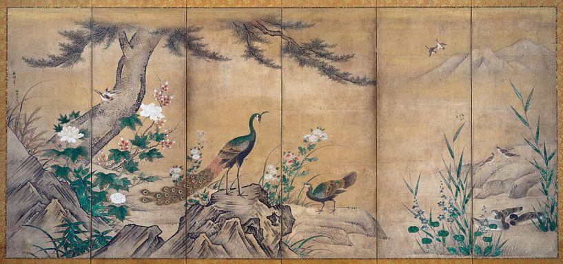 Kano Shoei. Vogels, bomen en bloemen van 1000 Schilderijen