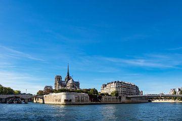 Blick auf die Kathedrale Notre-Dame in Paris, Frankreich von Rico Ködder