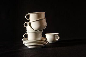 Stilleben , Koffietijd von Els Hattink
