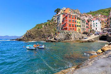 Sonniger Tag in Riomaggiore Cinque Terre von Rob Kints