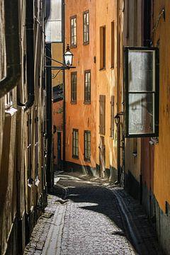 Gamla Stan Stockholm van Ton Boertien