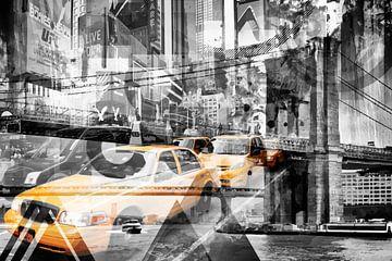 Moderne Kunst NYC Collage von