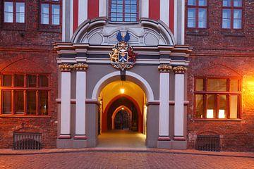 Rathaus, Eingang, Stralsund, Mecklenburg-Vorpommern von Torsten Krüger