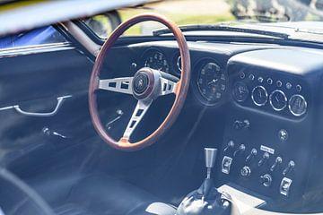 Lamborghini 350 GT Italiaanse klassieke sportwagen interieur van Sjoerd van der Wal