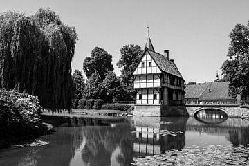 Schönes Fachwerkhaus in Deutschland. von Aukelien Minnema