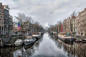Le centre d'Amsterdam. sur Tilly Meijer