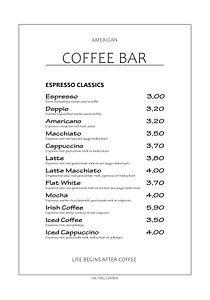 Coffee Bar van The Pixel Corner