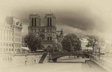 Notre Dame in Paris von Toon van den Einde