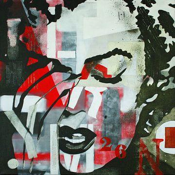"Marilyn MONROE ""Cry"" van Kathleen Artist van Kathleen Artist Fine Art"