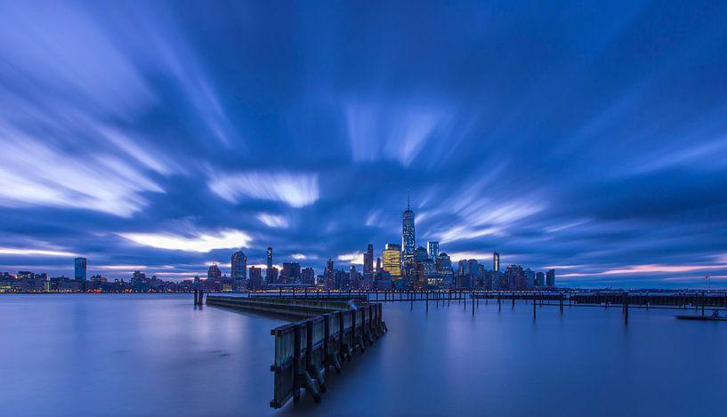 Uitzicht op Manhattan (New York City) van Marcel Kerdijk