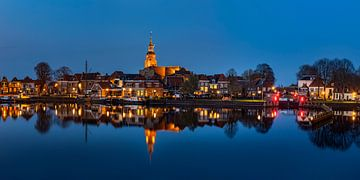 Blokzijl-5, Abendreflexionen, Niederlande von Adelheid Smitt