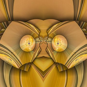 Phantasievolle abstrakte Twirl-Illustration 106/47 von PICTURES MAKE MOMENTS