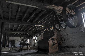 Urbex : vieux moulin sur Jarno De Smedt
