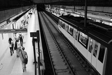 Metrostation in Barcelona von Maren Oude Essink