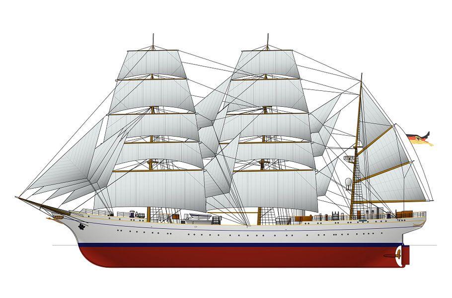 Gorch Fock van Simons Ships
