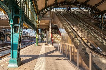 Stahl im Bahnhof Den Bosch von Pixel Meeting Point