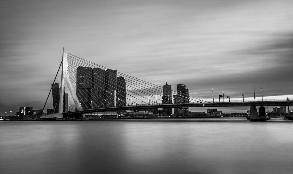 Rotterdam op z'n zachtst.