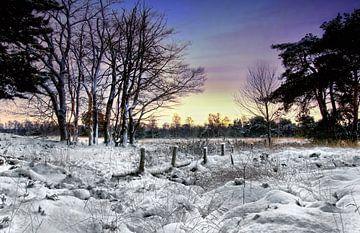 Winterlandschap van Egon Zitter