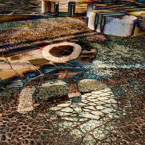 Straat Mozaiek, Industriële kunst van Alie Ekkelenkamp