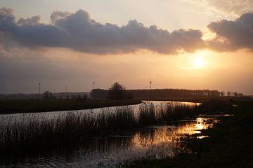 Zonsondergang Prinsenbeek van Sander Vissers