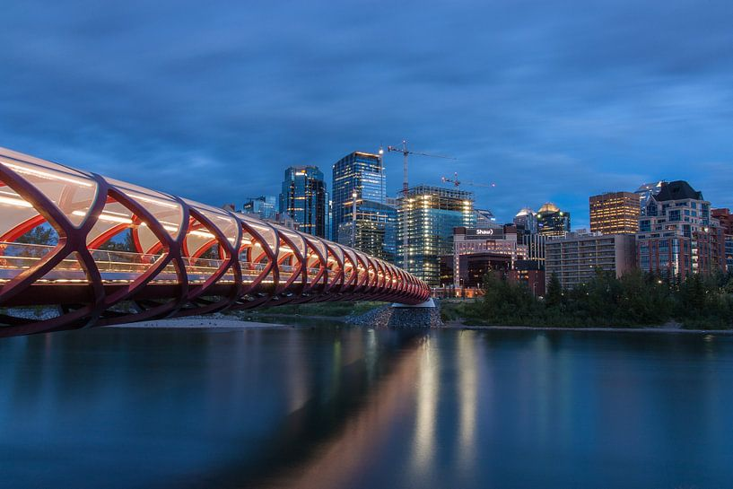 Peace bridge Calgary van Ilya Korzelius