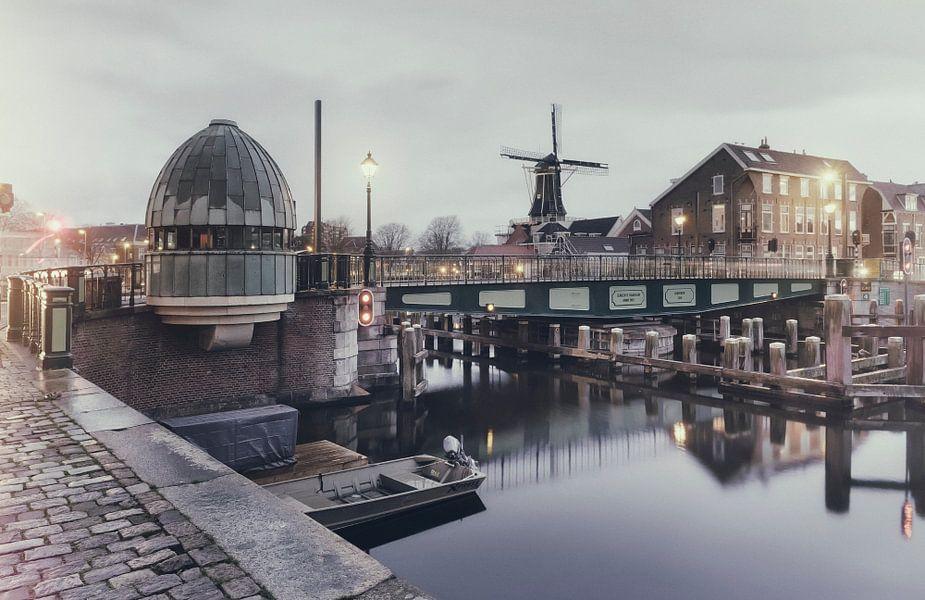 Haarlem: Catharijnebrug.