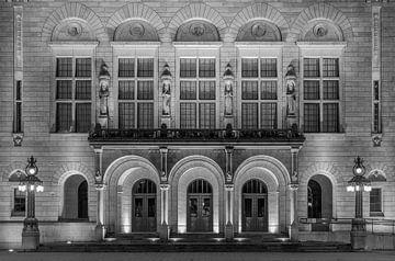 Het stadhuis van Rotterdam op de Coolsingel van MS Fotografie | Marc van der Stelt