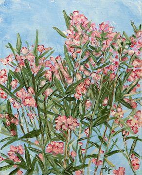 Oleander von Antonie van Gelder Beeldend kunstenaar