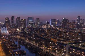 Het stadscentrum van Rotterdam