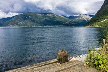 Storfjord in Norwegen von Rico Ködder
