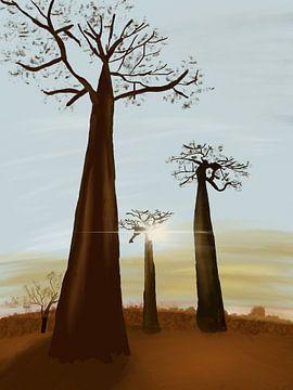 Allée des Baobabs, Madagaskar von Piev