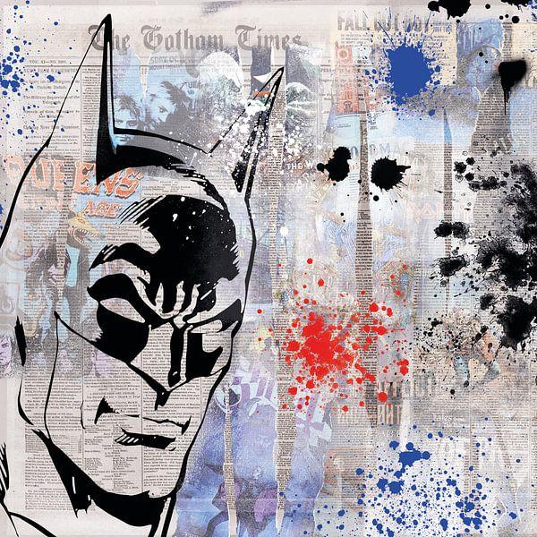 Der Held von Gotham City von Rene Ladenius Digital Art