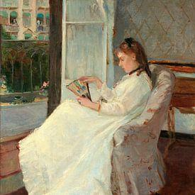 zuster van de kunstenaar in een Venster, Berthe Morisot van Liszt Collection
