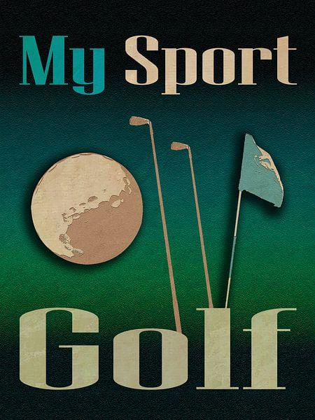 Mein Sport Golf von Joost Hogervorst